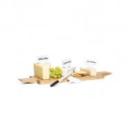 4 tabliczki do oznaczania żywności z markerem Sagaform Fun