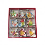 9 mini-foremek do świątecznych ciasteczek, 2,5 - 4 cm