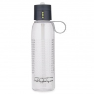 AL - Butelka na wodę DOT HPBA szara