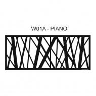 Ażurowy panel dekoracyjny Piano KazanDesign