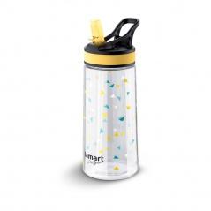 Bidon/butelka sportowa 500ml Lamart Straw żółto-przezroczysty