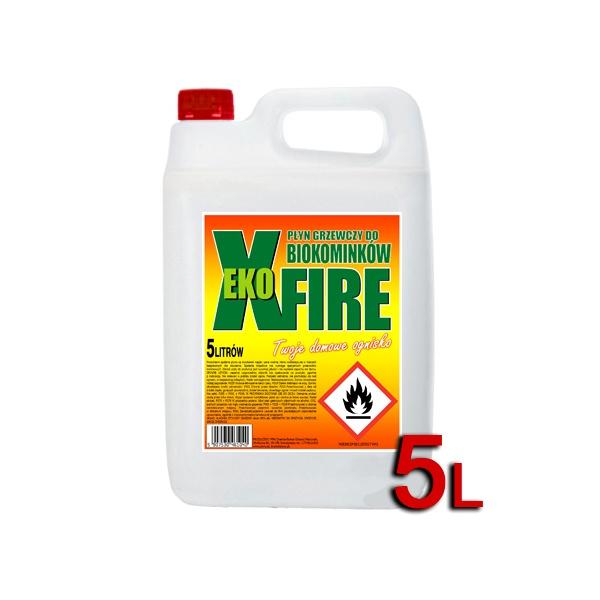 Bioetanol 5l - biopaliwo do biokominków EkoXfire 5900190006736
