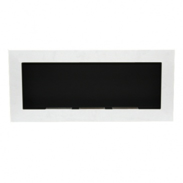 Biokominek dekoracyjny prostokątny 90x40 EcoFire biały