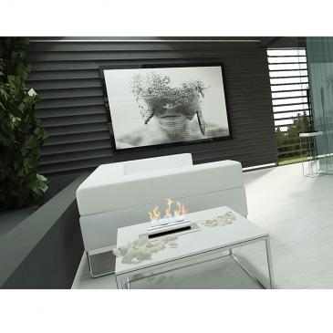 Biokominek stołowy