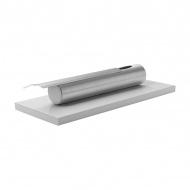 Biokominek stołowy Stainless Globmetal biały