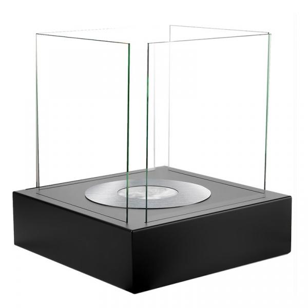 Biokominek wolnostojący 400x400mm Globmetal czarny GMT-028