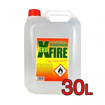 Biopaliwo 30 litrów Ekoxfire - bioetanol do biokominków 5900190006736x30