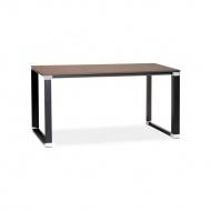 Biurko Kokoon Design Warner 140x74 cm ciemne drewno
