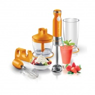 Blender ręczny 6,8x6,8x40cm Sencor SHB 4363OR pomarańczowy