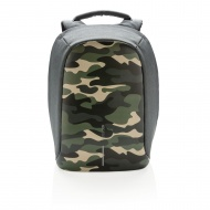 Bobby Compact plecak antykradzieżowy kamuflaż zielony
