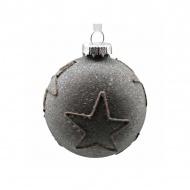 Bombka Noel Star 8cm