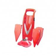 BORNER - V5 - Szatkownica z uchwytem - czerwona
