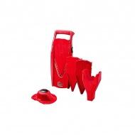 BORNER - V5 - Szatkownica ze stojakiem i uchwytem - czerwona