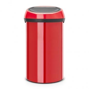 BRABANTIA - Kosz Touch Bin 60 l - czerwony