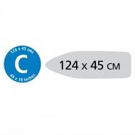 BRABANTIA - PerfectFlow - Pokrowiec na deskę do prasowania - rozmiar C - Colour Spots