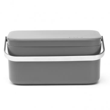 BRABANTIA - Sink Side - Pojemnik na odpady organiczne - Ciemnoszary