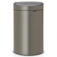 BRABANTIA - Touch Bin New - Kosz 40 l - Platynowy
