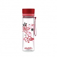 Butelka AVEO - czerwona - 0.6L / Aladdin