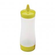 butelka do sosów i polew, 0,35 l, zielona