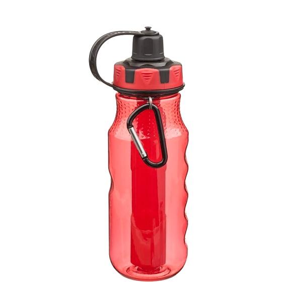 Butelka EXCURSION z żelowym wkładem Cool Gear czerwona 6730-10