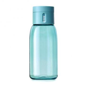 Butelka na wodę 400ml JJ DOT błękitna