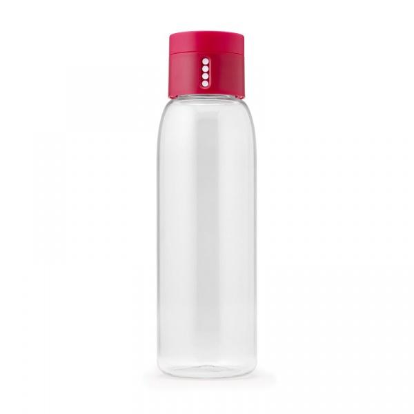 Butelka na wodę 600ml Joseph Joseph Dot różowa 81051
