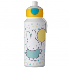 Butelka na wodę Campus 400ml Miffy Confetti