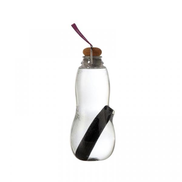 Butelka na wodę EAU GOOD Black&Blum fioletowa EG003