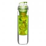 Butelka na wodę z wkładem na owoce 800ml Sagaform Fresh zielona