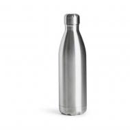 butelka stalowa termiczna, metaliczna, 0,5 l