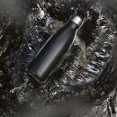 Butelka termiczna 0,5 l Sagaform Outdoor czarna stalowa