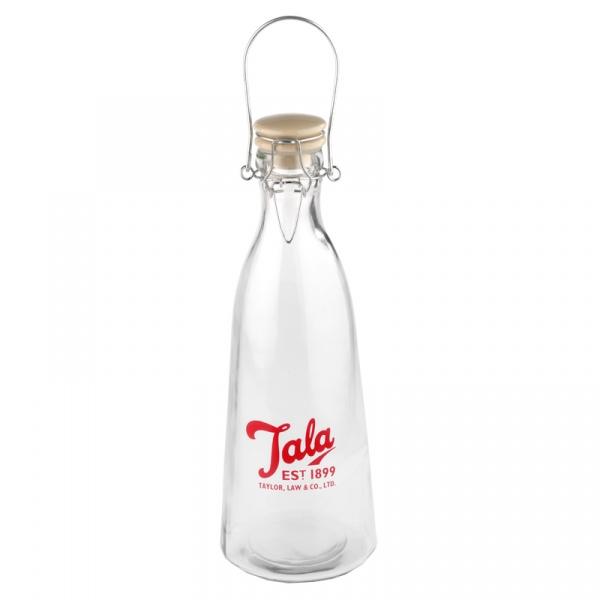 Butelka Vintage 1 l Tala Retro czerwone logo 10B19610_C