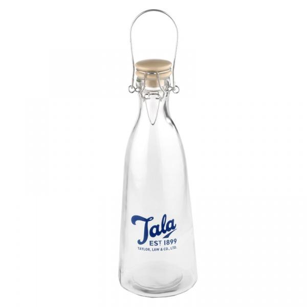 Butelka Vintage 1 l Tala Retro niebieskie logo 10B19610_N