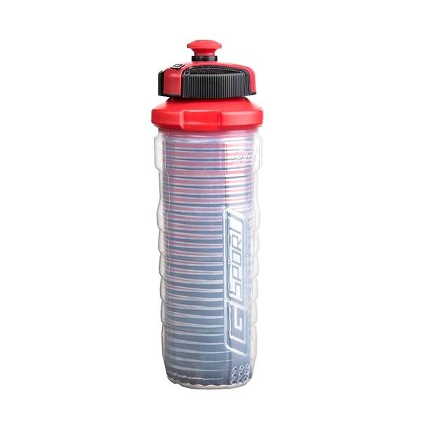 Butelka z podwójną ścianką 650ml Cool Gear Endurance czerwona 1219-10