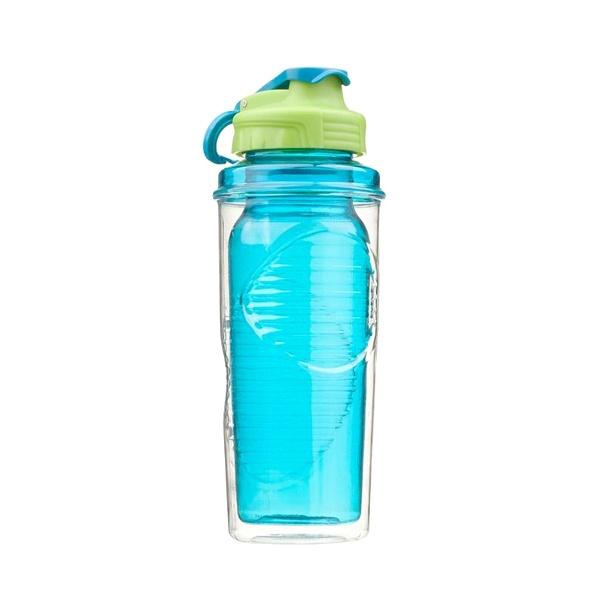 Butelka z podwójną ścianką Cool Gear Vision niebieska 852-01