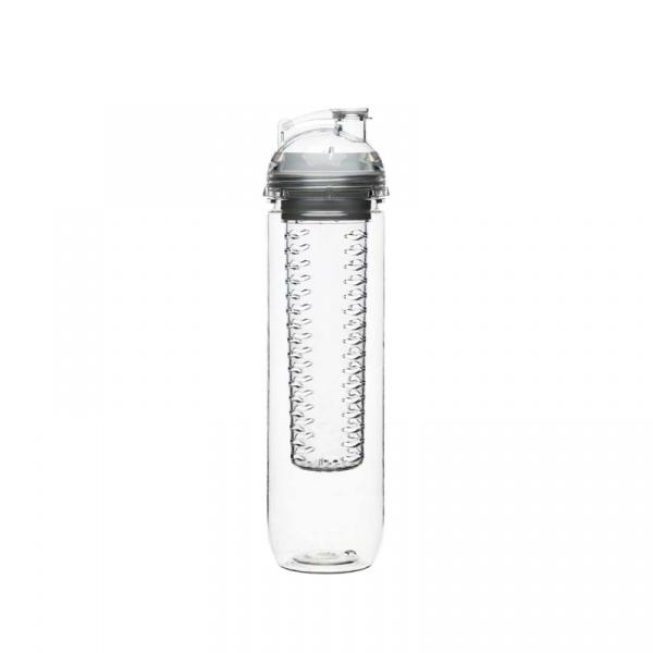 Butelka z pojemnikiem na owoce/lód 0,6 l Sagaform Fresh przezroczysta SF-5016709