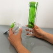 Butelka z pojemnikiem na owoce/lód 0,8 l Sagaform Fresh zielona SF-5017478