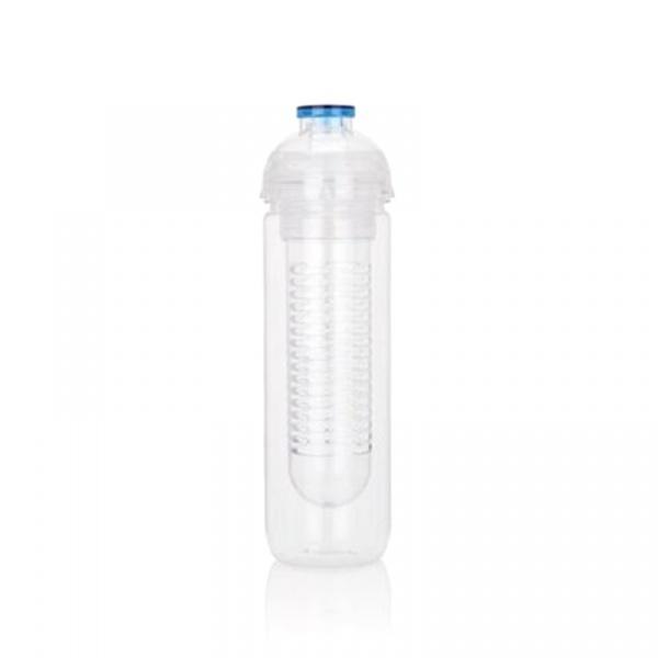 Butelka z wkładem chłodzącym 500 ml XDDesign Tritan niebieska XD-P436.815