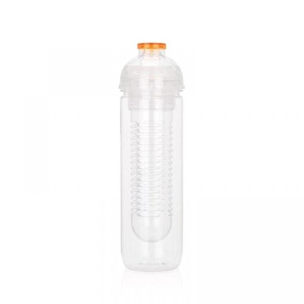 Butelka z wkładem chłodzącym 500 ml XDDesign Tritan pomarańczowa XD-P436.818