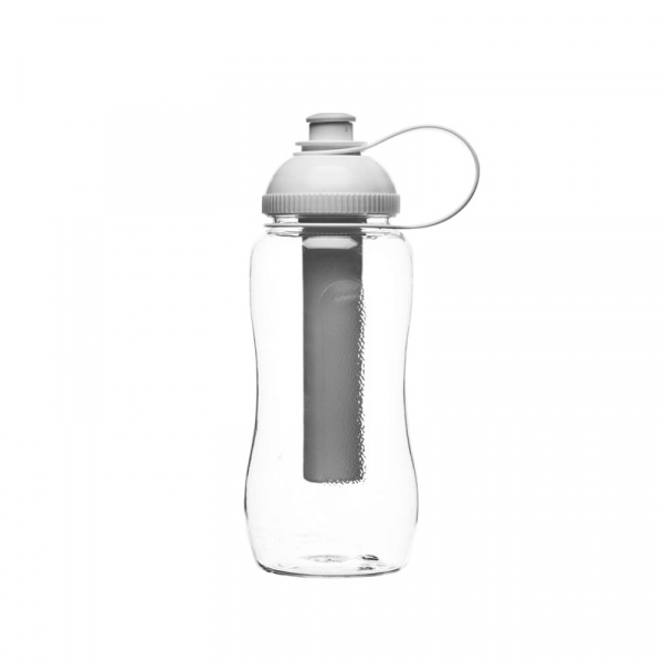 Butelka z wkładem na lód 0,52 l Sagaform Fresh przezroczysta SF-5016708