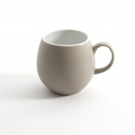 Ceramiczny kubek 0,4 l London Pottery Pebble beżowy