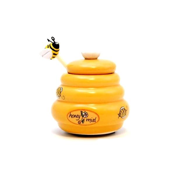 Ceramiczny mały słoiczek na miód  MSC International  Tea MS-80151