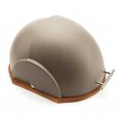 Chlebak Helmet szary 37x26x22cm