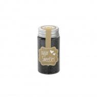 Cukier ozdobny mini perełki 75g Birkmann grafitowy