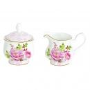 Cukiernica i mlecznik do kawy Nuova R2S Floral Damask