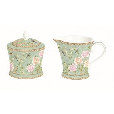 Cukiernica i mlecznik do kawy Nuova R2S Palace Garden zielona