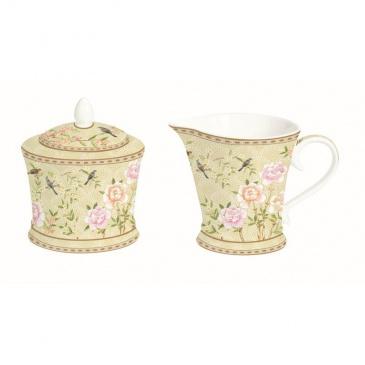 Cukiernica i mlecznik do kawy Nuova R2S Palace Garden beżowy