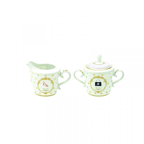 Cukiernica + mlecznik do kawy Nuova R2S Elegance 1104 DOF