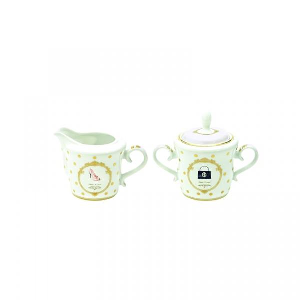 Cukiernica + mlecznik do kawy Nuova R2S Elegance Woman 1104 DOF