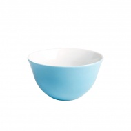 Czarka do kawy z mlekiem 0,5 l Kahla Update Paint niebieska